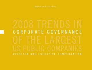2008 Director & Executive Compensation Survey