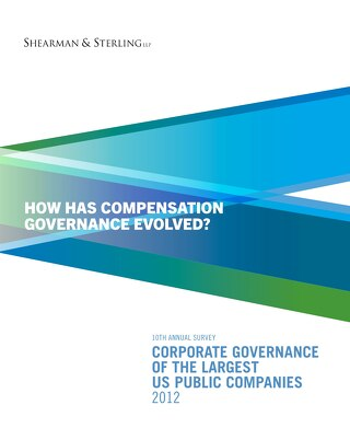 2012 Compensation Governance Survey
