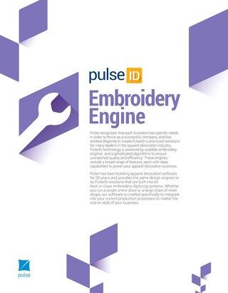 PulseID_Embroidery Engine