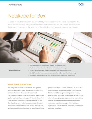 Netskope for Box