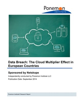 Data Breach: The Cloud Multiplier Effect in European Countries