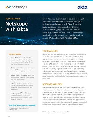 Netskope and Okta
