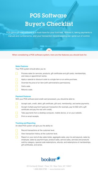 Buyer's Checklist: POS Software