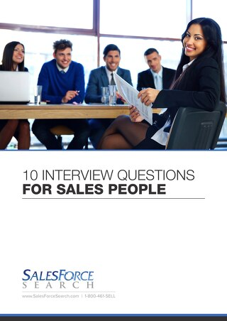 10 Interview Questions for Sales People