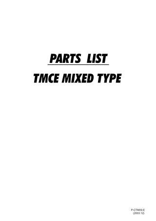 TMCE MIX PARTS 2003.12