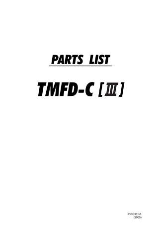 TMFDCIII PARTS 9905