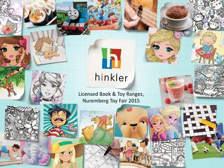 Hinkler Licensed Book and Toy Ranges, Nuremberg Toy Fair 2015