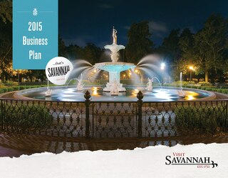 2015 Visit Savannah Business Plan