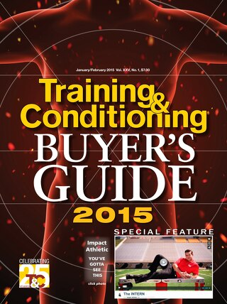 Training&Conditioning 2015 Buyer's Guide