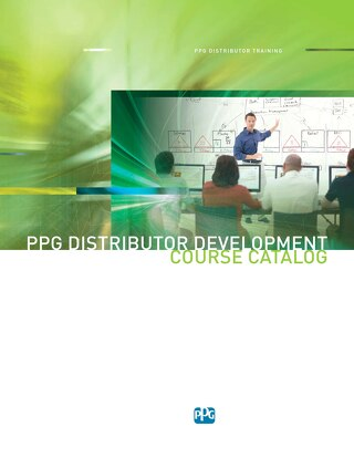 Distributor Training Course Catalog