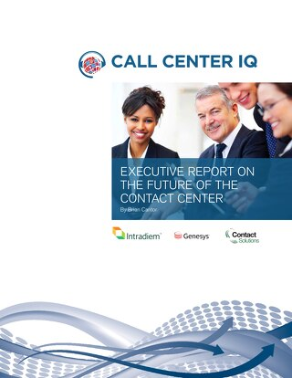 IQPC Executive Report on the Future of Contact Centers