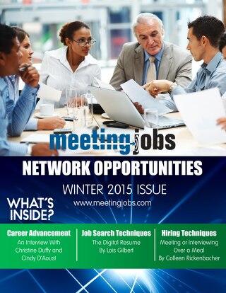 "MeetingJobs.Com ""Network Opportunities"" Magazine Winter 2015"