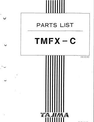 TMFX PARTS 93.09