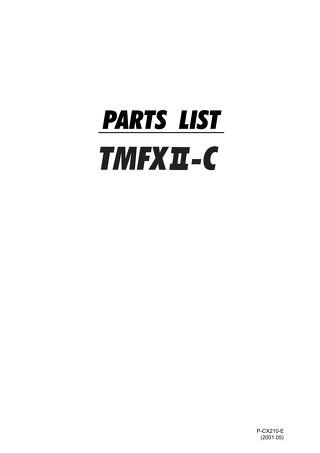 TMFXIIC PARTS 2001.05