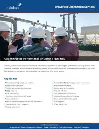 Brownfield Optimization Services