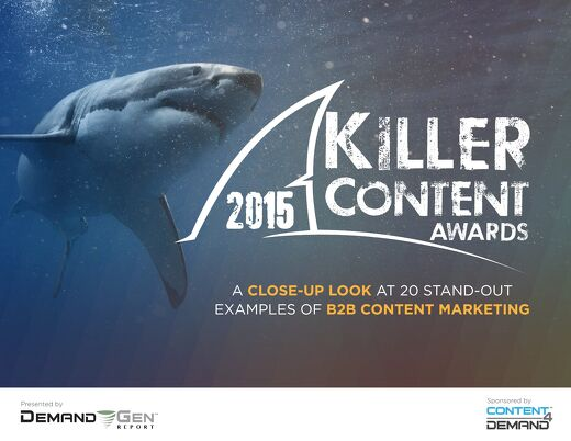 2015 Killer Content Awards