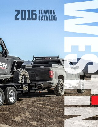 2016 Towing Catalog