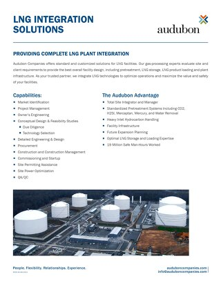 LNG Integration Solutions
