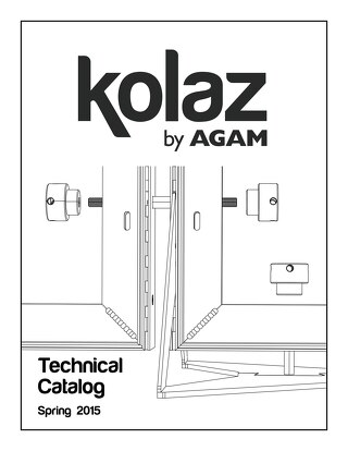 Kolaz Display Fixture System Technical Catalog