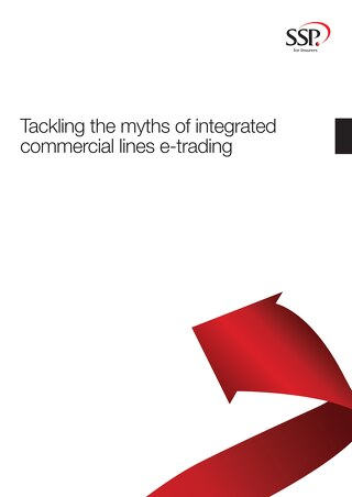 Tackling the myths of integrated commercial lines e-trading