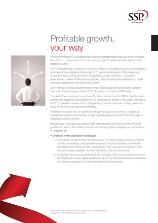 Profitable growth, your way