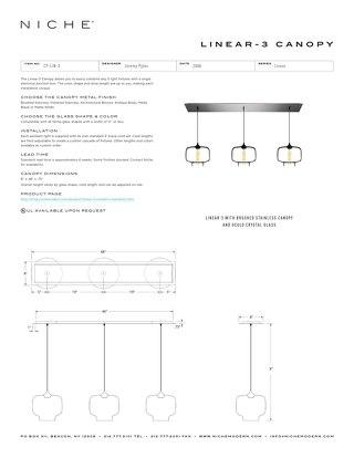 Linear-3 - Tear Sheet