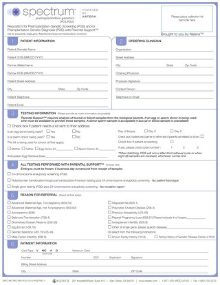 Spectrum Physician Req Form