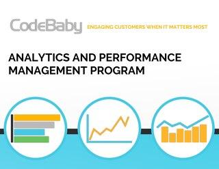 CodeBaby Analytics Performance Management Program