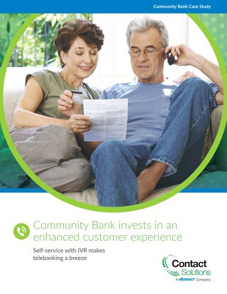 Community Bank invests in an enhanced customer experience