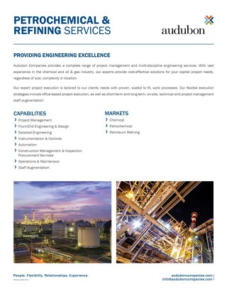 Petrochemical & Refining Services