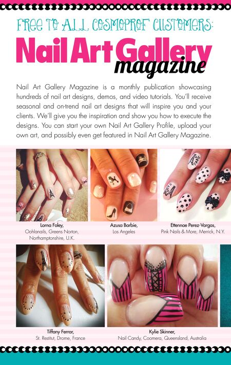 Nails Magazine Supplements - CosmoProf 2015