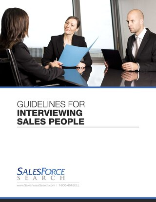 Guidelines For Interviewing Sales People