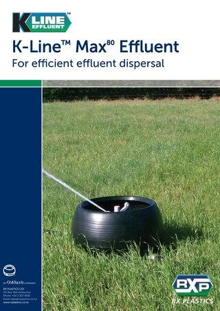 K-line Max80 Effluent Brochure
