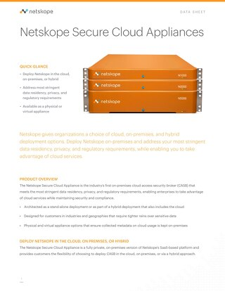 Netskope Secure Cloud