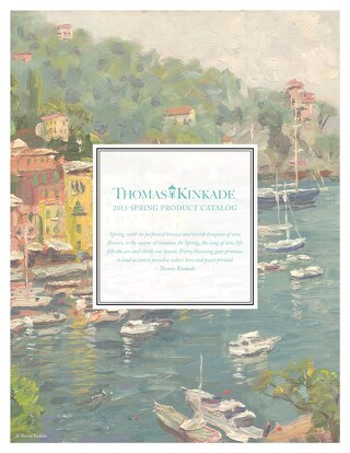Interactive 2015 Thomas Kinkade Spring Product Catalog