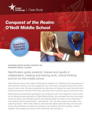 Case Study O'Neill Middle School