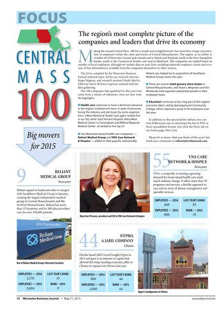 May 11, 2015 - Central Mass 100