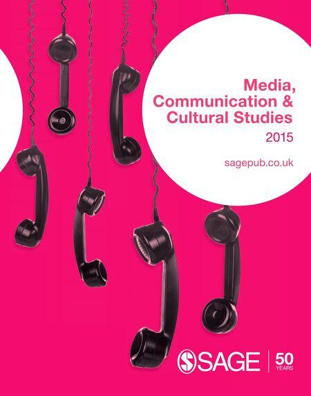Sage media communication cultural studies catalogue 2015 fandeluxe Gallery