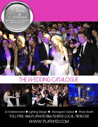 Platinum Entertainment Wedding Catalogue 2015