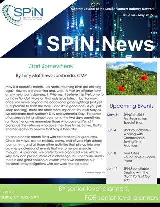 May 2015 SPiN News