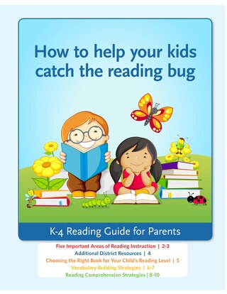 K-4 Reading Guide for Parents
