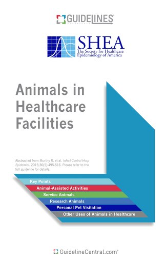 Animals in Healthcare Facilities (SHEA)
