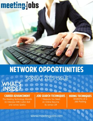 "MeetingJobs.Com ""Network Opportunities"" Magazine Spring 2015"