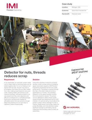 NAS - Nut Sensor - Case Study