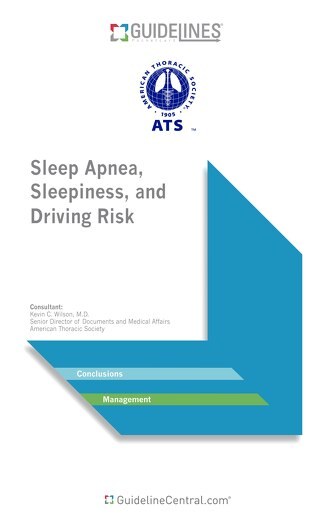 ATS Sleep Apnea and Driving Risk