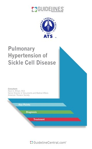 Pulmonary Hypertension of Sickle Cell Disease