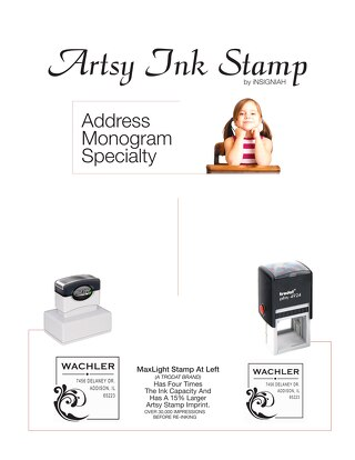 iNSIGNIAH Artsy Stamp