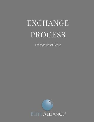 Exchange Process For Lifestyle Asset Group