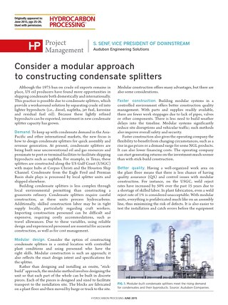 Consider a Modular Approach to Constructing Condensate Splitters