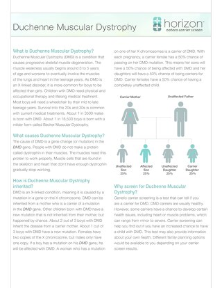 Duchenne Muscular Dystrophy Fact Sheet
